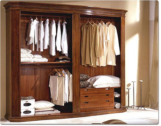 Arredamenti parussa - Cabine armadio classiche ...